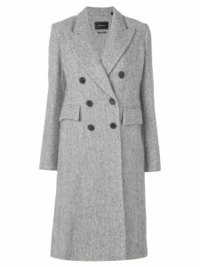 Isabel Marant double-breasted coat - Grey