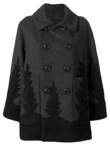 Dsquared2 double-breasted coat - Grey