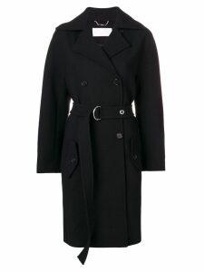 Chloé belted double-breasted coat - Black