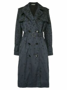 Bottega Veneta butterfly trench coat - Grey