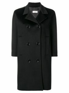 Alberto Biani double breasted coat - Black