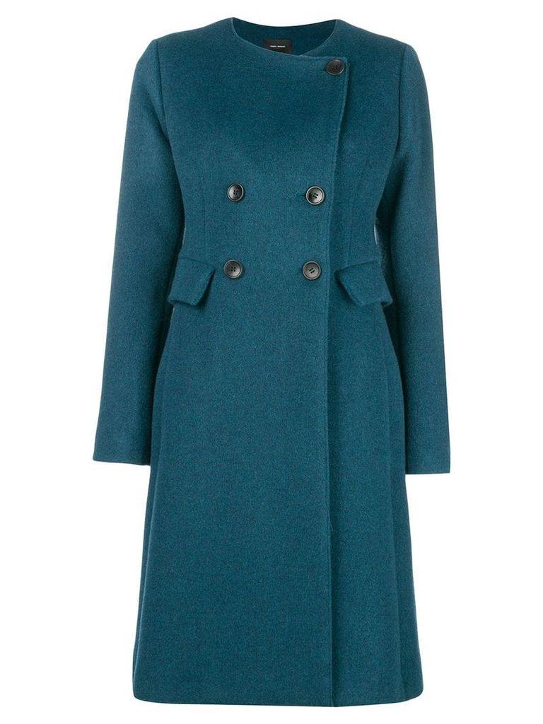 Isabel Marant double-breasted coat - Blue