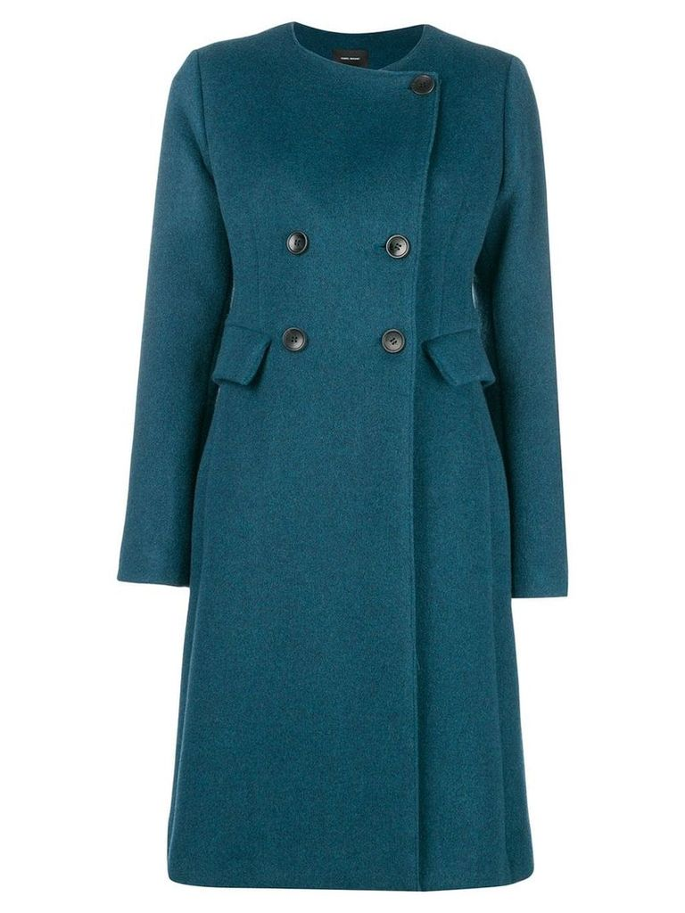 Isabel Marant double-breasted coat - Blue