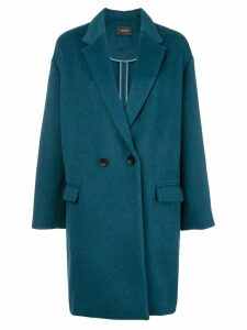 Isabel Marant oversized coat - Blue