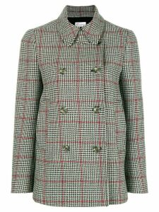 Red Valentino Caban peacoat - Grey