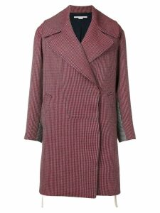 Stella McCartney striped coat - Red