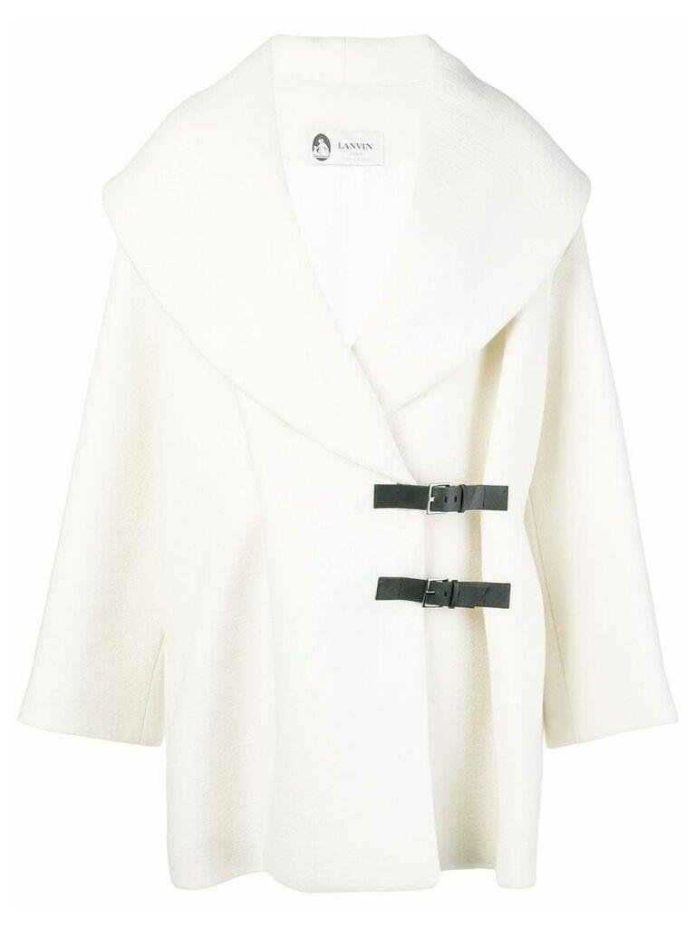 Lanvin wool coat - White