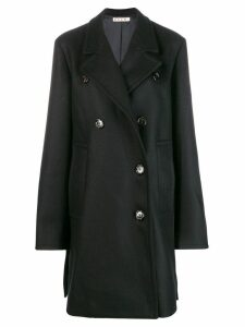 Marni double breasted coat - Black