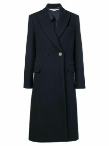 Stella McCartney double-breasted coat - Blue