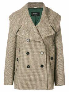 Rochas buttoned coat - Neutrals