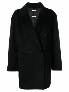 P.A.R.O.S.H. double breasted coat - Black