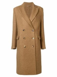 Ermanno Scervino double breasted coat - Brown