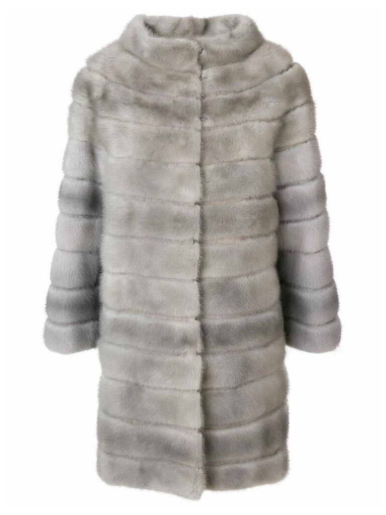 Liska Zek fur coat - Grey
