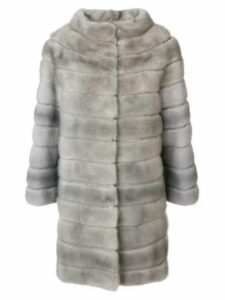 Liska Zek fur coat - Grey