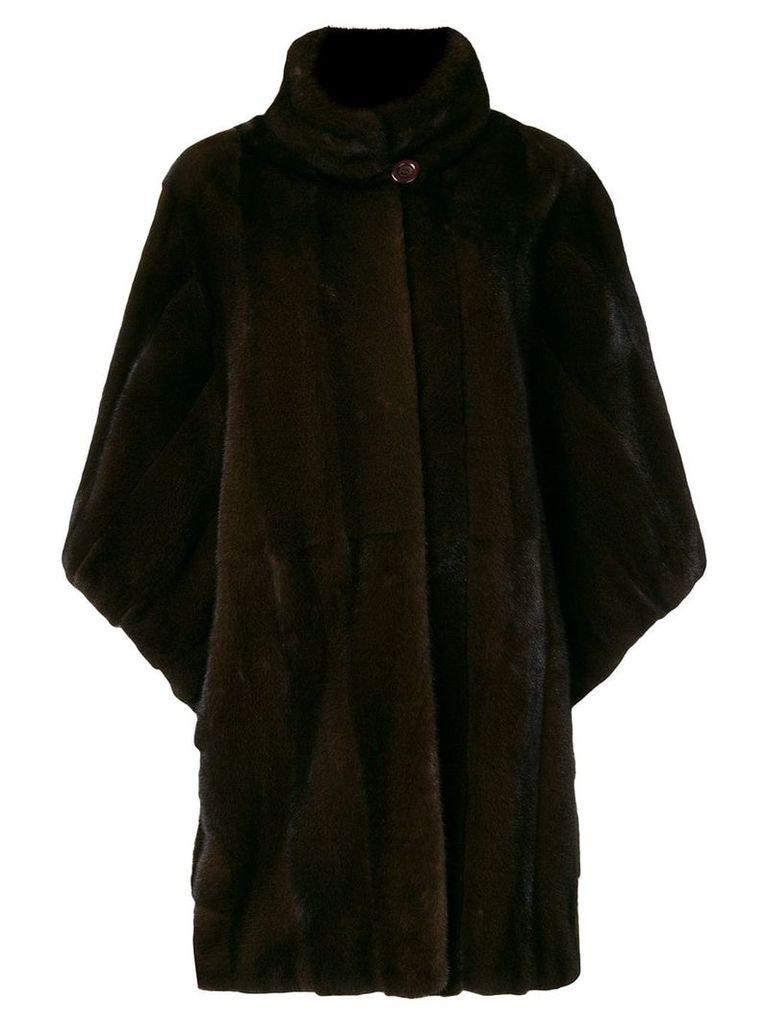 Liska Magrit fur coat - Brown
