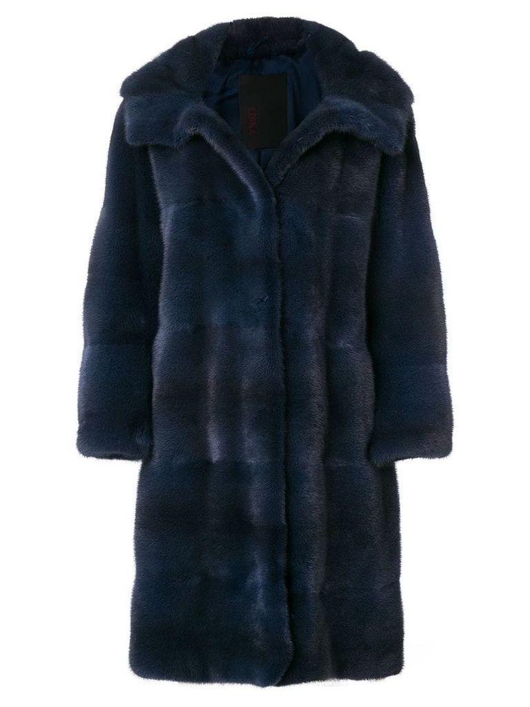 Liska oversized coat - Blue