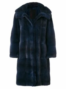 Liska oversized coat - Blue