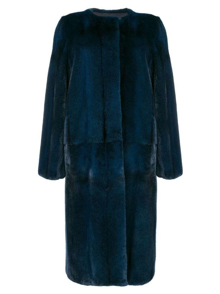 Liska Cross coat - Blue