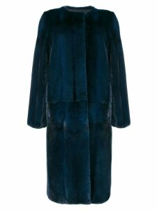 Liska Cross coat - Blue