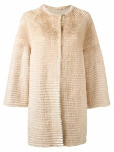 Liska midi coat - Neutrals