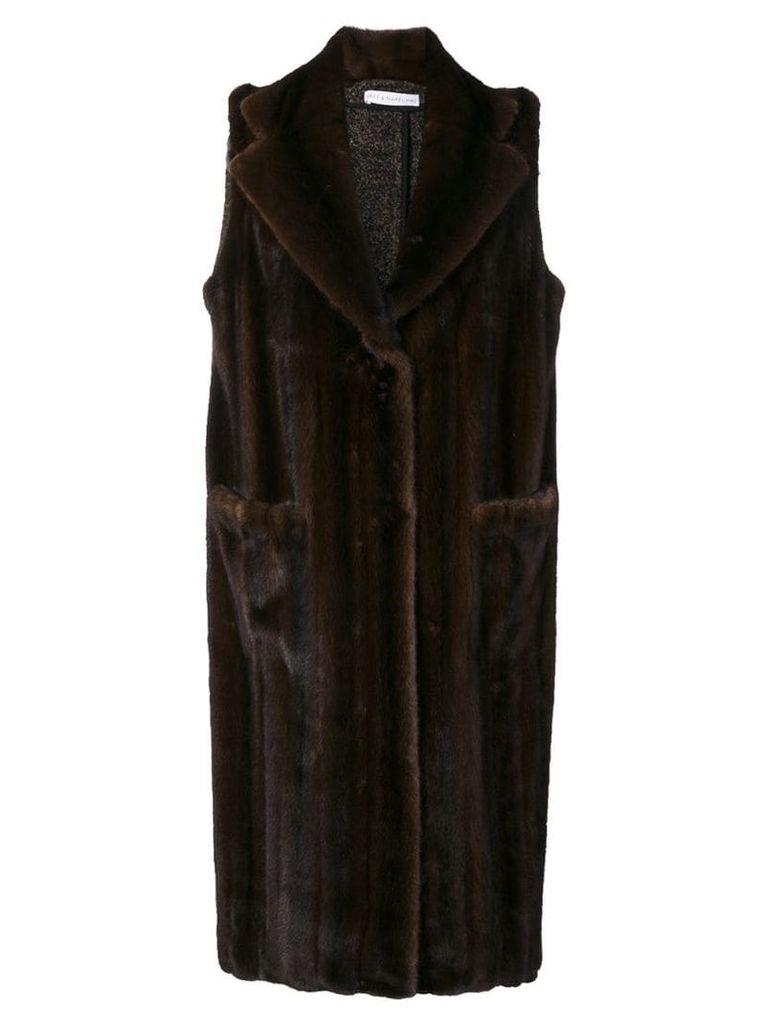 Inès & Maréchal Bastille coat - Brown