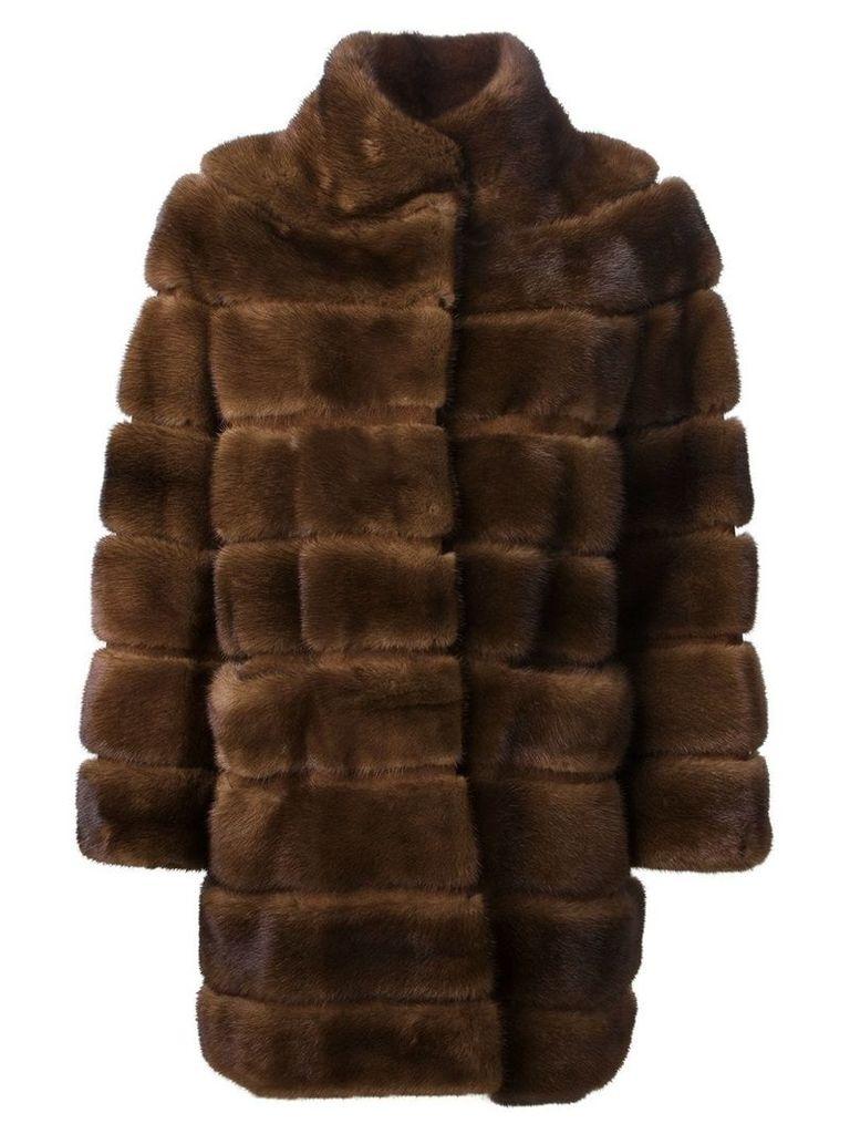 Liska 'Cheyenna' coat - Brown