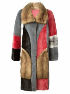 Liska reversible fur coat - Multicolour