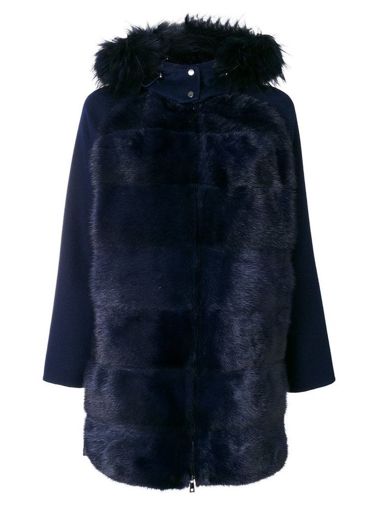 P.A.R.O.S.H. Linky coat - Blue
