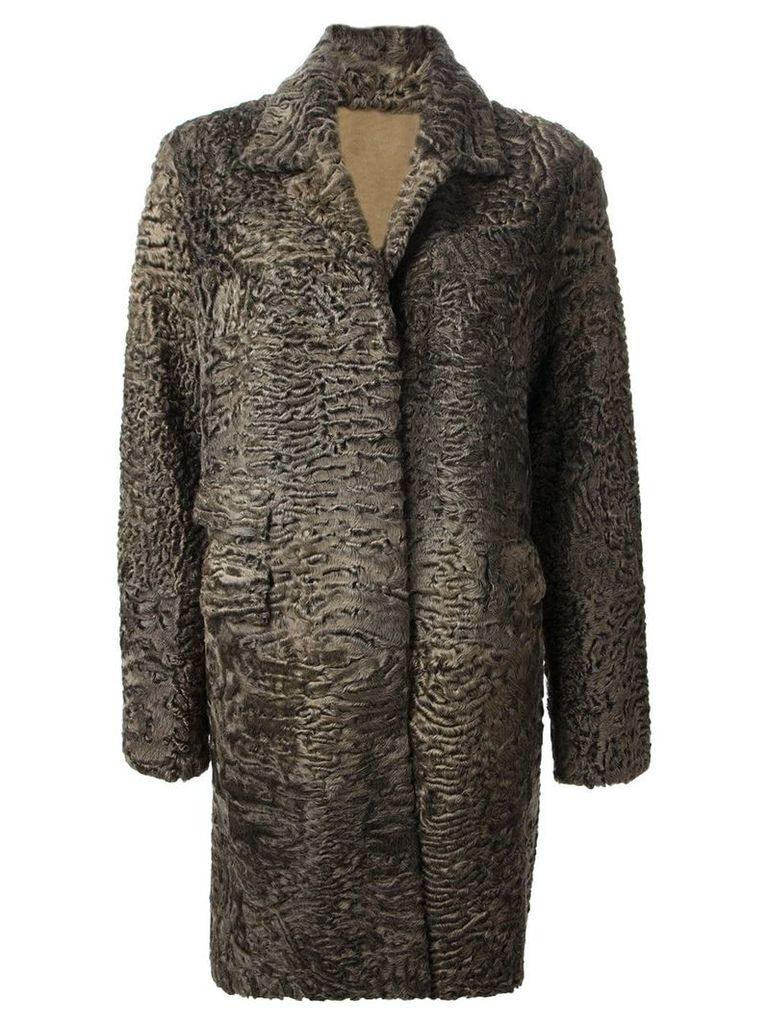 Liska 'Hyrmes' coat - Green