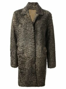 Liska 'Hyrmes' coat - Green