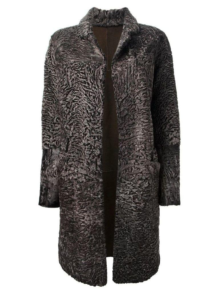 Liska 'Hyrmes' coat - Brown
