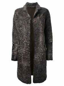 Liska 'Hyrmes' coat - Brown