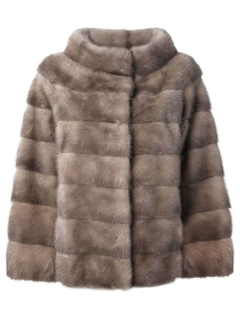 Liska 'Philippa' coat - Grey