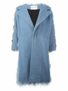 Sandy Liang 'Mingo' coat - Blue