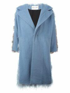 Sandy Liang 'Mingo' coat - Blue