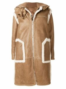 Moncler Cotoneaster coat - Brown