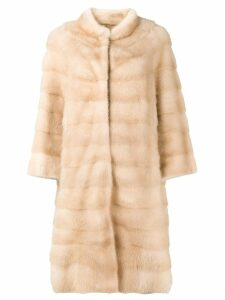 Liska Palinamai fur coat - Neutrals