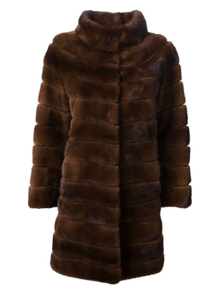 Liska 'Antonia' coat - Brown