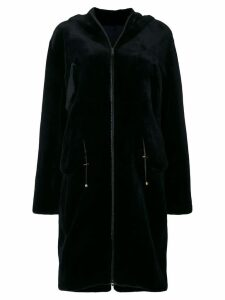 Liska Chantal fur coat - Blue