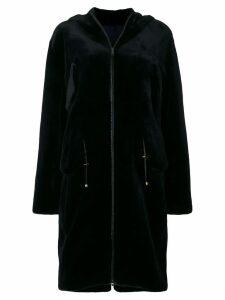 Liska Chantal fur coat - Blue