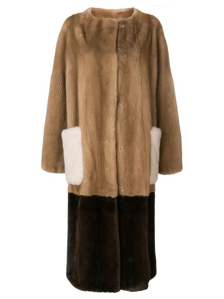 Liska Petunia coat - Brown
