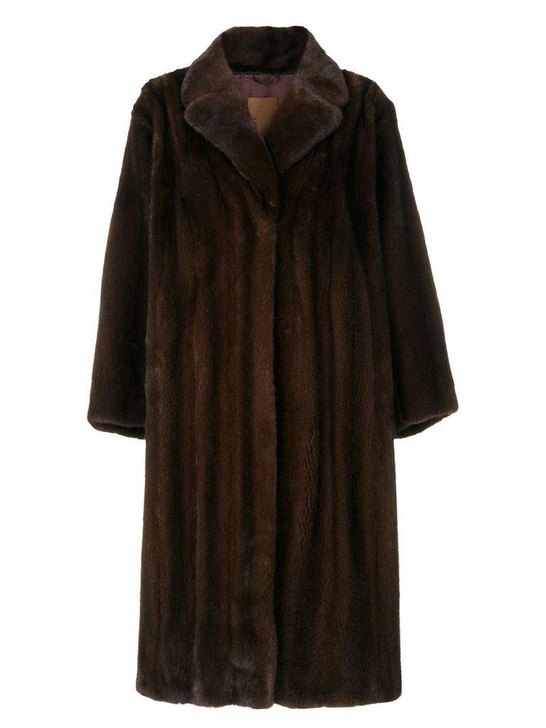 Liska mid-length coat - Brown