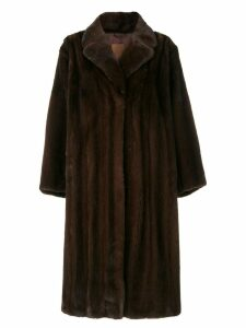 Liska mid-length coat - Brown