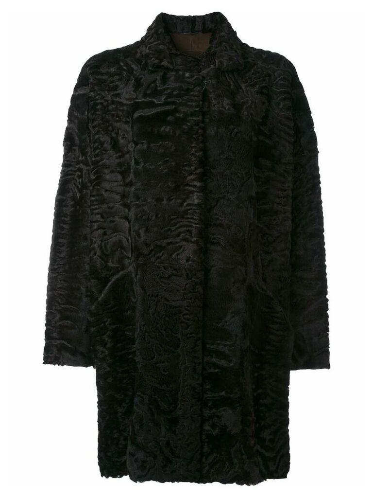 Liska Hyrmes coat - Brown