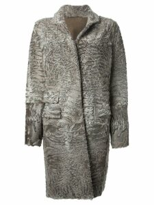 Liska 'Hyrmes' coat - Grey
