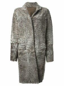 Liska 'Hyrmes' coat - Grey