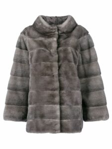 Liska fur padded coat - Grey