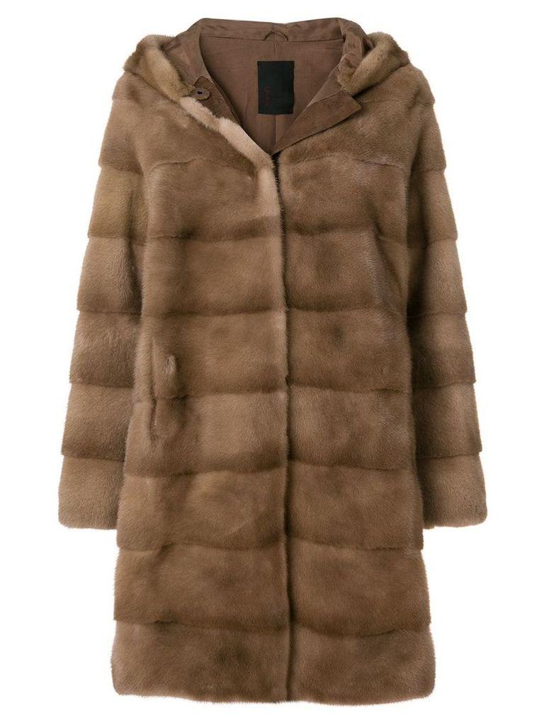Liska Damiana coat - Neutrals