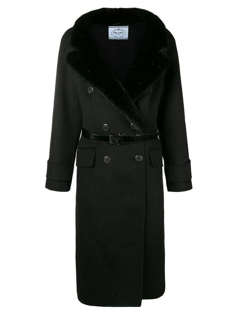 Prada fur coat - Black
