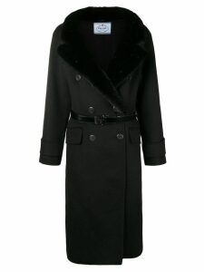 Prada fur coat - Black